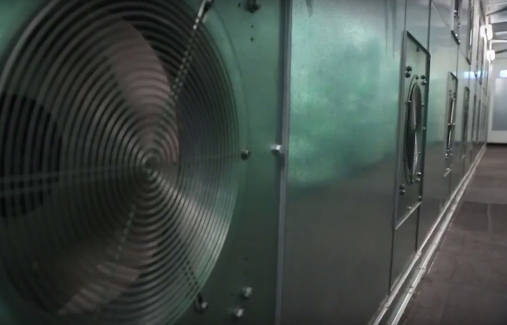 University of Adelaide Hub Central HVAC Plant iHMX Fan Wall