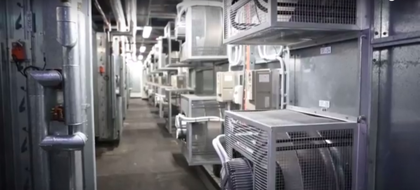 University of Adelaide Hub Central HVAC Plant iHMX EC fan wall